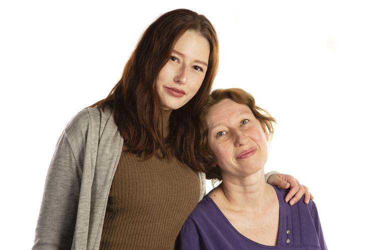 Au CHUM, de mère en fille